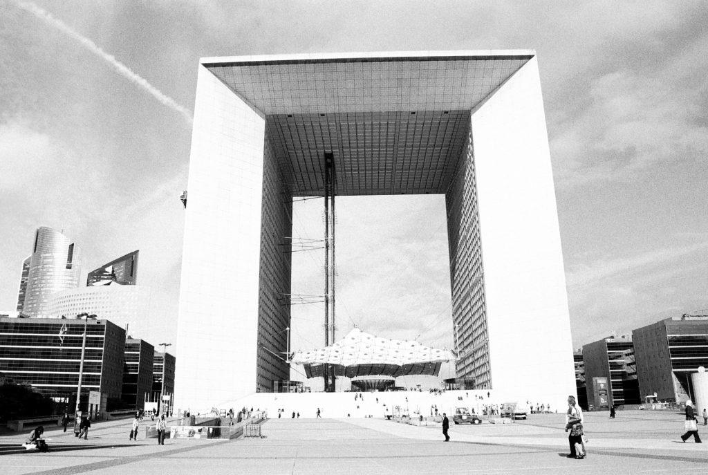 La Défense. Арка. © 2011 Ольга де Бенуа