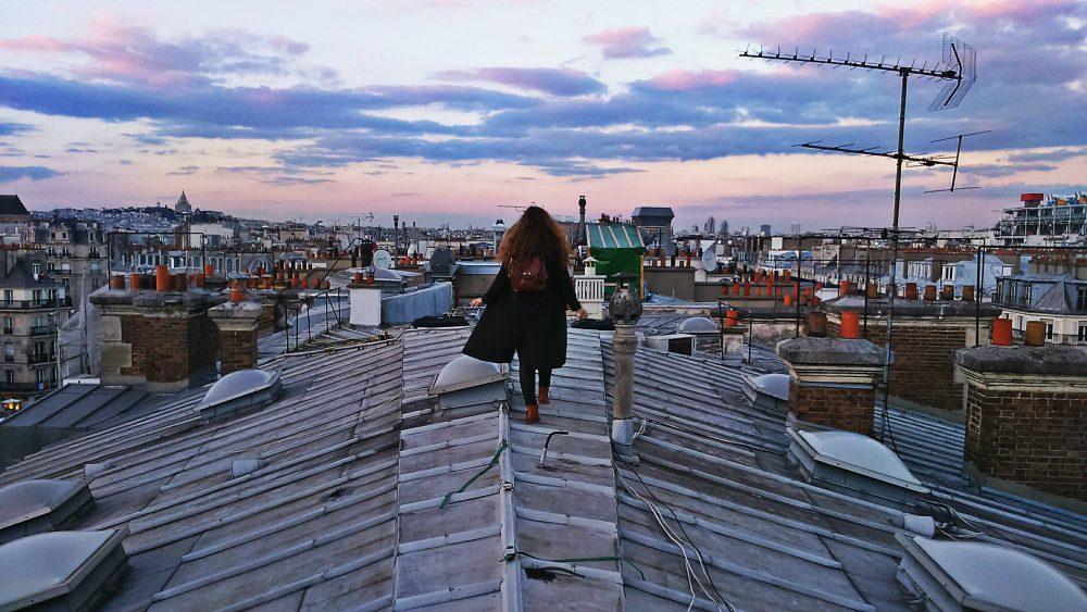 парижские крыши