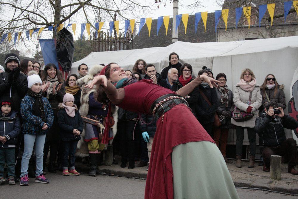 средневековая ярмарка в Провене