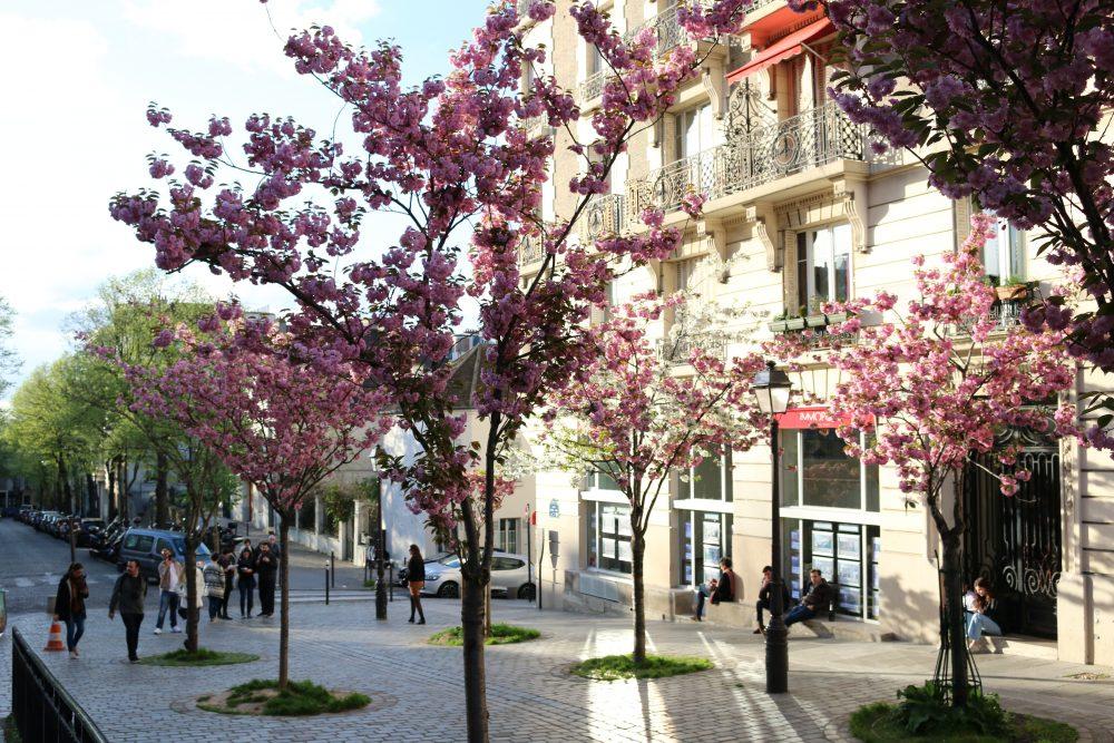 парижский Монмартр