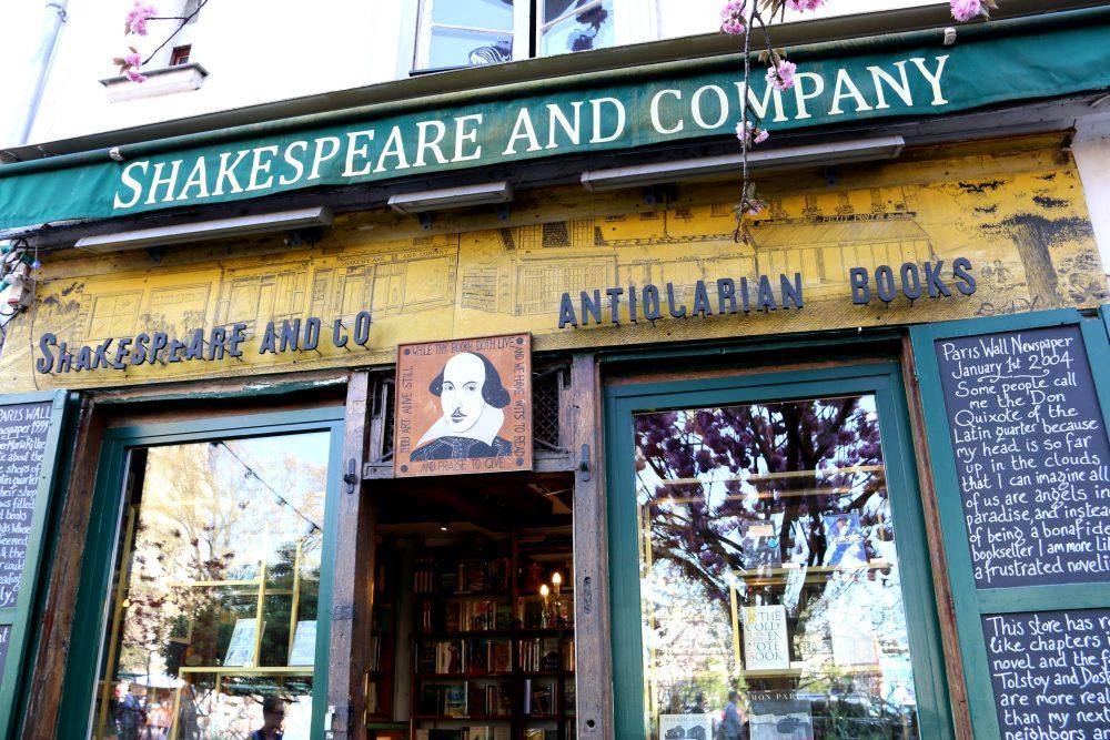 книжная лавка Шекспир и Компания