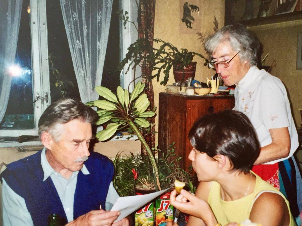 Olga Petit et Alexandre Karvovski