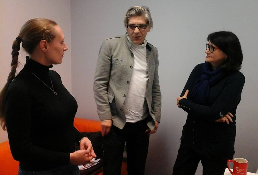 Анастасия Ольшевская в офисе Ридеро