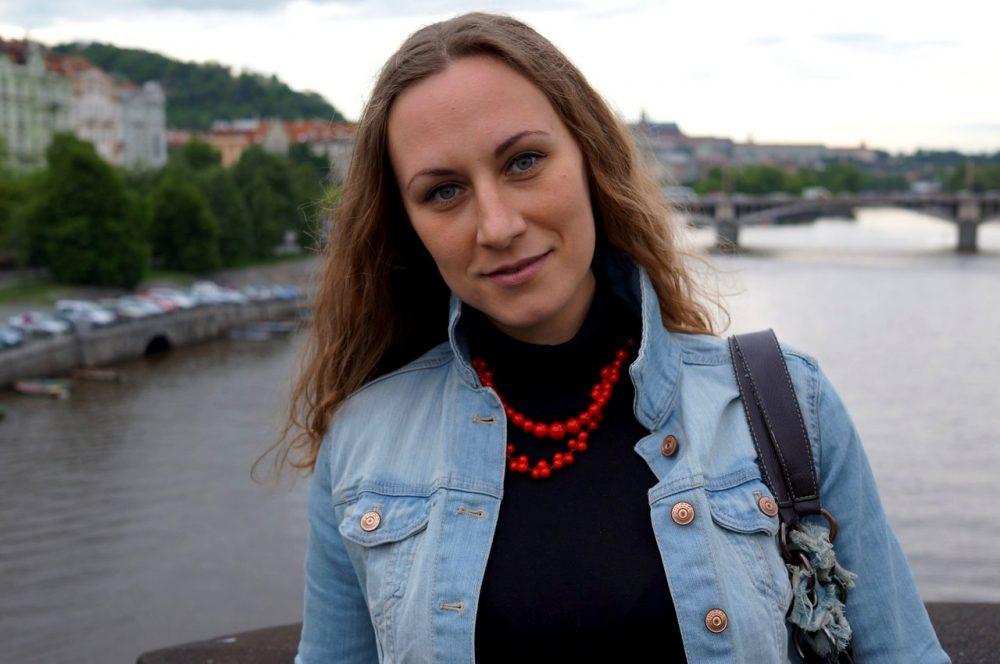 Анастасия Ольшевская в Праге
