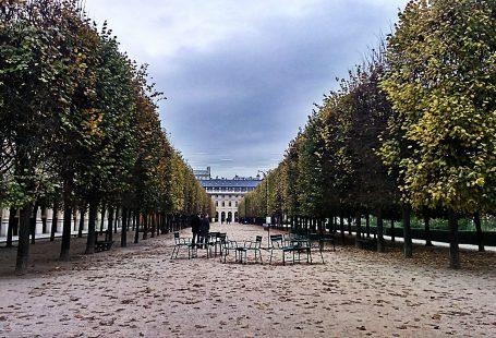 ноябрь в Париже