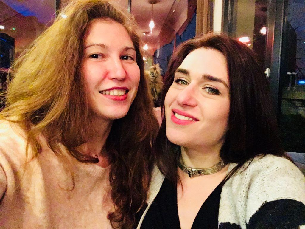 Olga de Benoist and Nour Ezzedeen