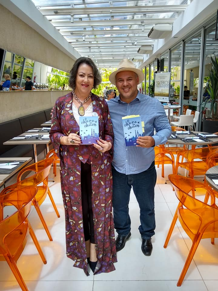 FOTO Íria Martins e Andrey do Amaral - Hotel Ibis abril 2019