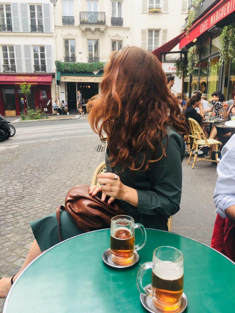 Olga de Benoist in Monmartre