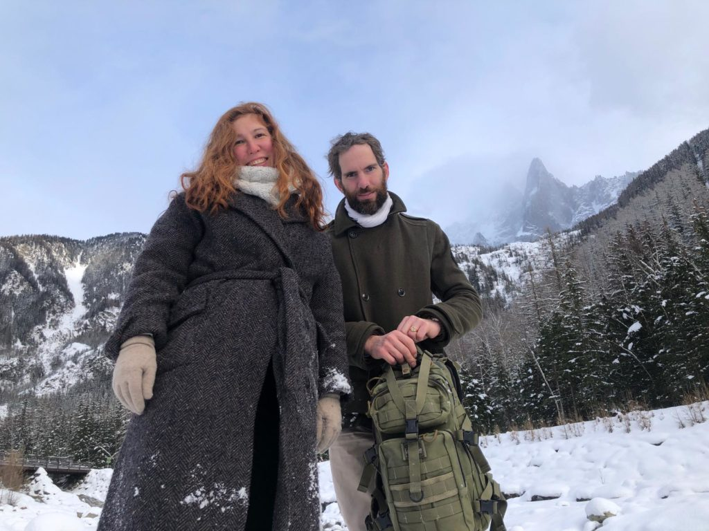 Ольга и Арно де Бенуа